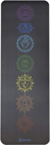Incline Fit Yoga Mat with Carrying Strap