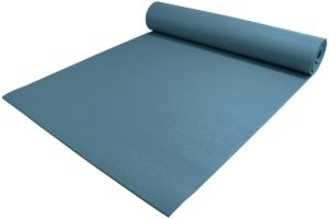 """Yoga Accessories 1/4"""" Thick High Density Deluxe Yoga Mat"""